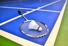 Cour de badminton Image libre de droits