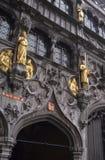 Cour de Bruges Image libre de droits