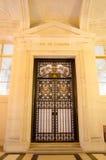 Cour de cassation, éditorial français d'admnistration de justice Photographie stock libre de droits