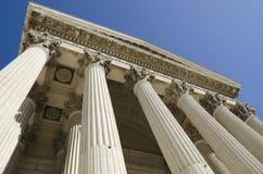 Cour de dessous Photos libres de droits