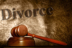 Cour de divorce Photographie stock libre de droits