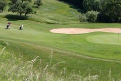 Cour de golf image stock