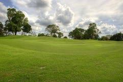 Cour de golf Photos stock