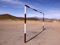 Cour de jeu, Bolivie images libres de droits