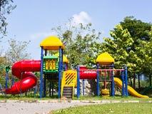 Cour de jeu d'enfants Images libres de droits