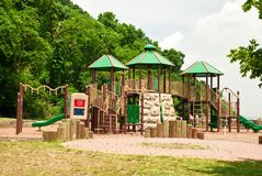 Cour de jeu d'enfants Photographie stock libre de droits