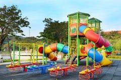 Cour de jeu d'enfants. Images stock