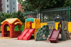Cour de jeu 2 d'enfants Photo libre de droits