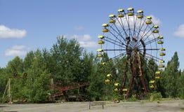 Cour de jeu d'enfants dans Chornobyl Photo libre de droits
