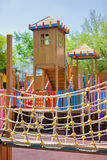 Cour de jeu d'enfants en stationnement Images stock
