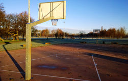 Cour de jeu de basket-ball Photos libres de droits