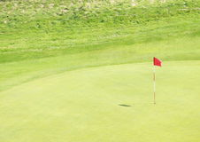 Cour de jeu de golf Photos libres de droits