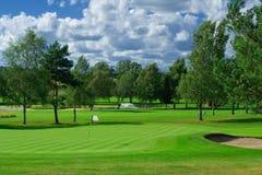 Cour de jeu de golf Photo libre de droits