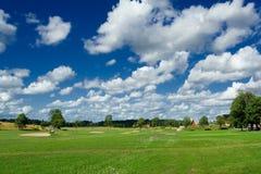 Cour de jeu de golf Photographie stock libre de droits