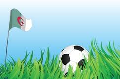 Cour de jeu du football, Algérie Illustration de Vecteur