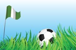 Cour de jeu du football, Nigéria Illustration Stock