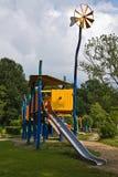 Cour de jeu pour des enfants Photos stock