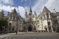 Cour de Justice royale Londres Photo stock