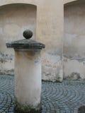 Cour de la Renaissance à Vilnius images stock