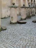 Cour de la Renaissance à Vilnius photos stock