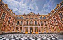 Cour de marbre, Cour de Marbre, palais de Versailles Image stock