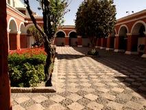 Cour de monastère Images libres de droits
