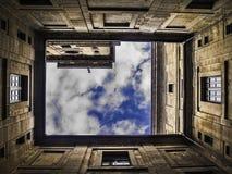 Cour de monastère d'EL Escorial Image libre de droits