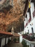 Cour de monastère d'Elona photo stock