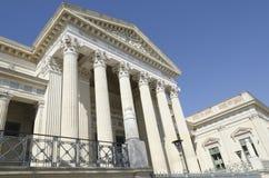 Cour de Nîmes, France Photos libres de droits