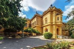 Cour de patriarcat dans la ville Sremski Karlovci près de Novi Sad dans V images libres de droits