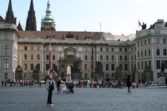 Cour de Prague Castle_palace Image stock