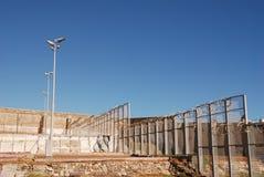 Cour de prison Images libres de droits