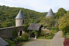 Cour de Pyrmont de Burg images libres de droits