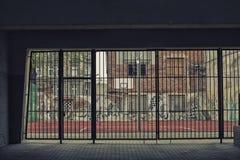 Cour de rue de basket-ball Image stock