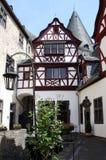 Cour de Schloss Burresheim Photos stock