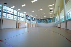 Cour de sport - d'intérieur photos stock