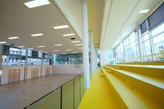 Cour de sport - d'intérieur photographie stock