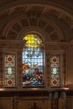 COUR DE WITLEY, GRAND WITLEY/WORCESTERSHIRE - 10 AVRIL : St Michae Images libres de droits