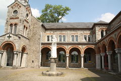 Cour du monastère Photo stock