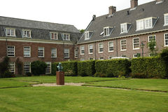 Cour du musée de John Amos Comenius dans Naarden Photos stock