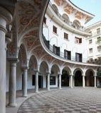 Cour du `s de Séville Photographie stock