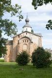 Cour du ` s de Yaroslav, églises orthodoxes médiévales, l'église du St image libre de droits