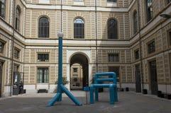 Cour du Siam, académie italienne pour des arts Photo libre de droits