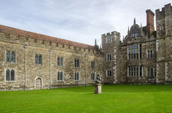Cour externe de Chambre de Knole Photo stock