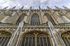 Cour intérieure d'université du ` s de roi images libres de droits