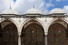 Cour intérieure de la mosquée bleue photo stock