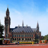 Cour internationale de Justice Photos stock