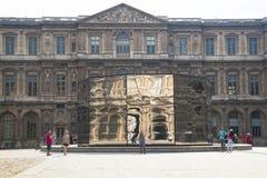 Cour interno Carre nel Louvre a Parigi fotografia stock libera da diritti