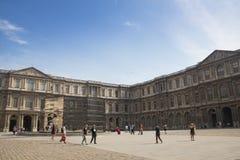 Cour interno Carre nel Louvre a Parigi fotografie stock