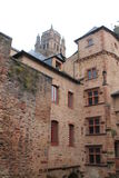 Cour, Maison de Benoit, Rodez ( France ) Royalty Free Stock Images